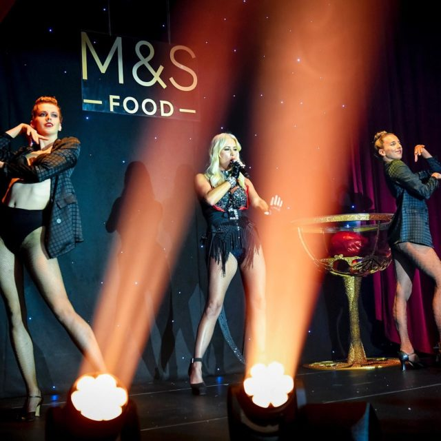 The amazing Denise Van Outen performing at a Marks and Spencer event on Thursday #eventprofslondon #eventprofs #eventphotographers
