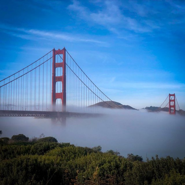 One rare day off before the job kicks in. #sanfrancisco #goldengatebridge #eventphotography #eventprofs